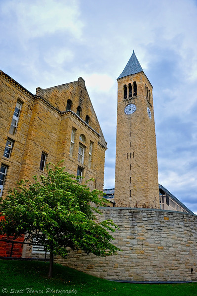 McGraw Tower on the Cornell University campus in Ithaca, New York.
