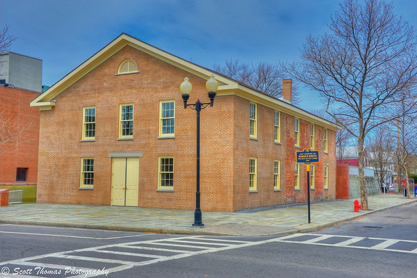 Wesleyan Methodist Church in Seneca Falls, New York was the site of the first Women's Rights Convention in 1848.