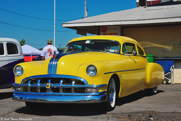 Yellow Pontiac