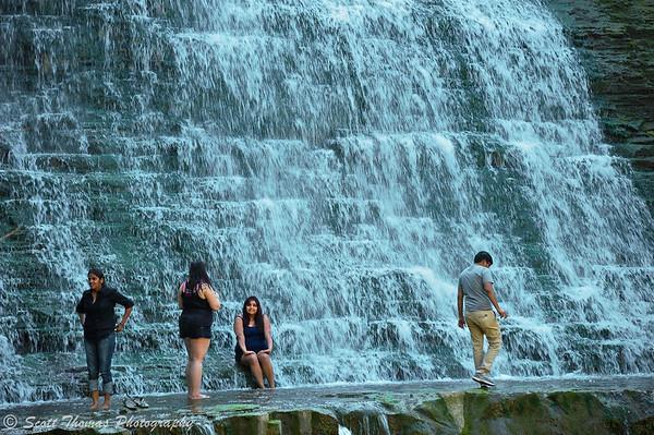 Albion Falls is a cascading waterfall near Hamilton, Ontario, Canada.