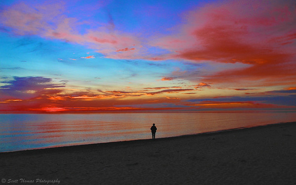 Lake Ontario Sunset.