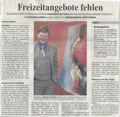 Bürgermeister Mettmann