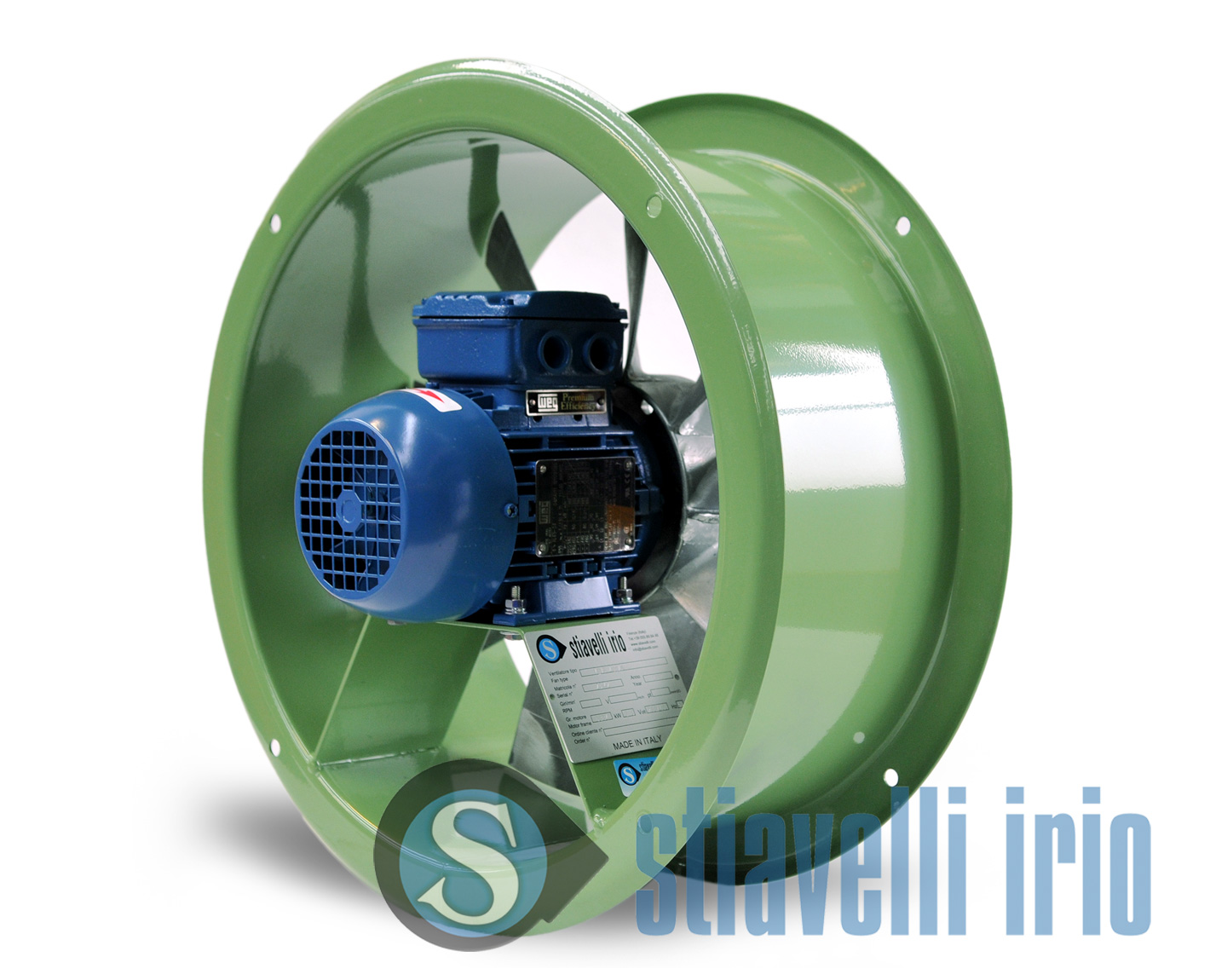 Yevf Industrial Axial Ducted Fans Stiavelli Irio Srl
