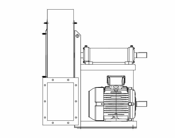 YVP/P Ventilatori Bassa Pressione Centrifughi Industriali
