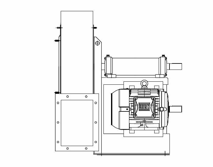 YVQ/N Industrial Medium Pressure Radial Backward Fans