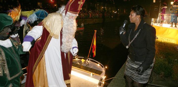 Sinterklaas komt vandaag naar Naarden