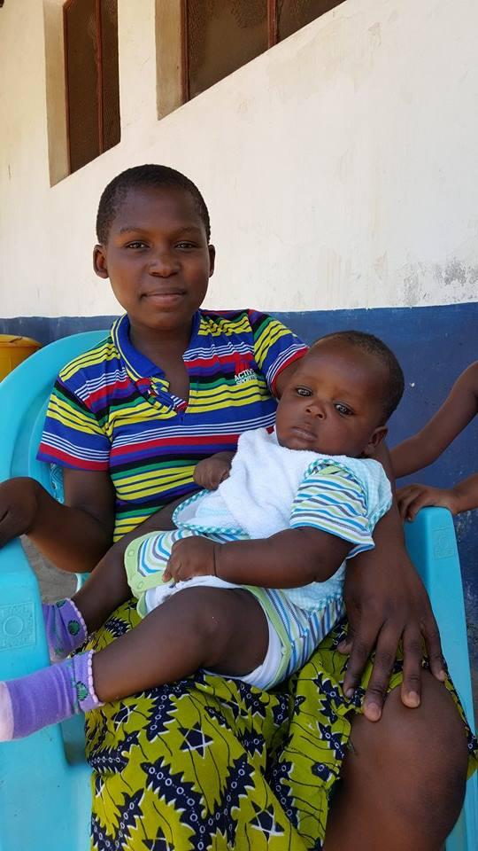 Neema en zoon Baraka