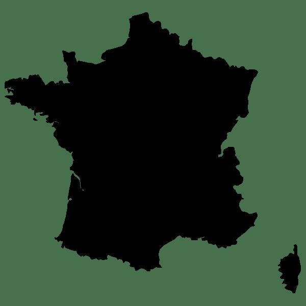 Carte de France  STICKAD