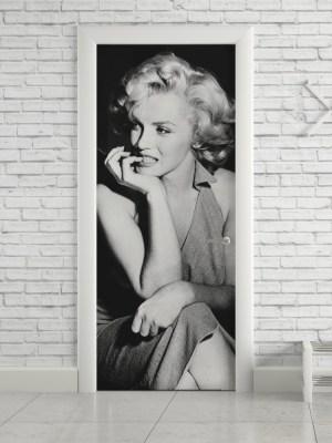 Adesivo de Porta Marilyn