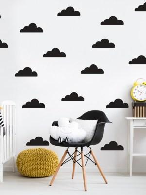 Kit de Adesivos de Parede Nuvens