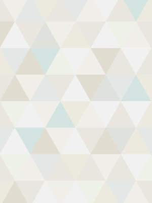 Papel de Parede Adesivo Geométrico Triangulos Serenity