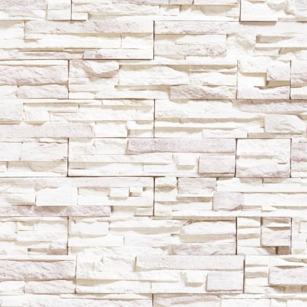 Papel de Parede Adesivo Pedra Branca