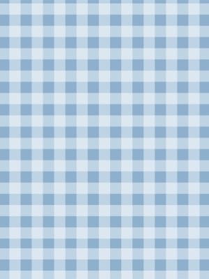 Papel de Parede Adesivo Xadrez Azul