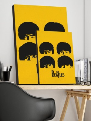 Placa Decorativa Beatles