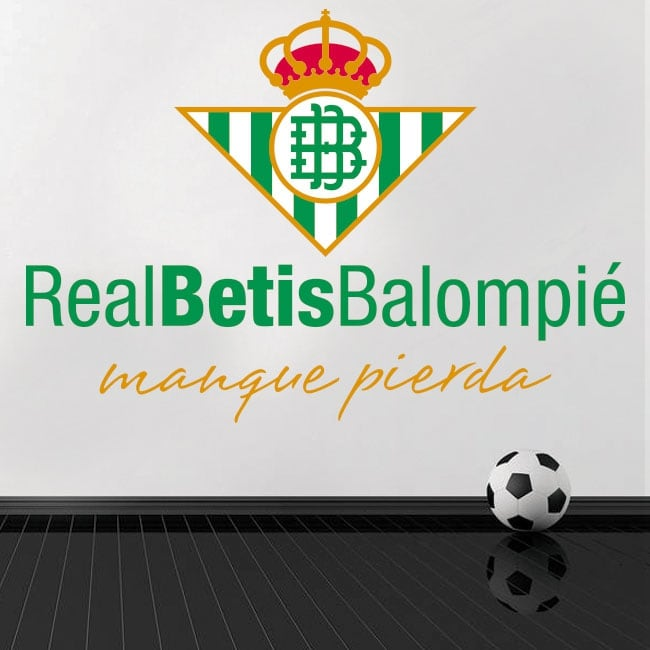 Real Betis Balompié . Football Vinyl And Stickers Real Betis Balompie