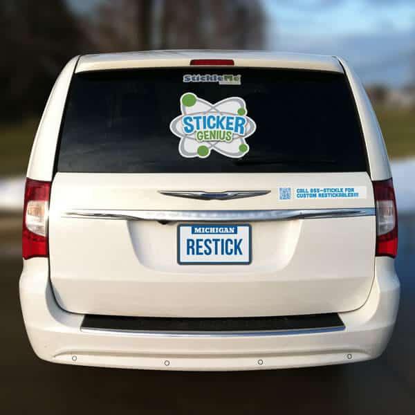 Car Window Decals for Business Custom Car Window Decals
