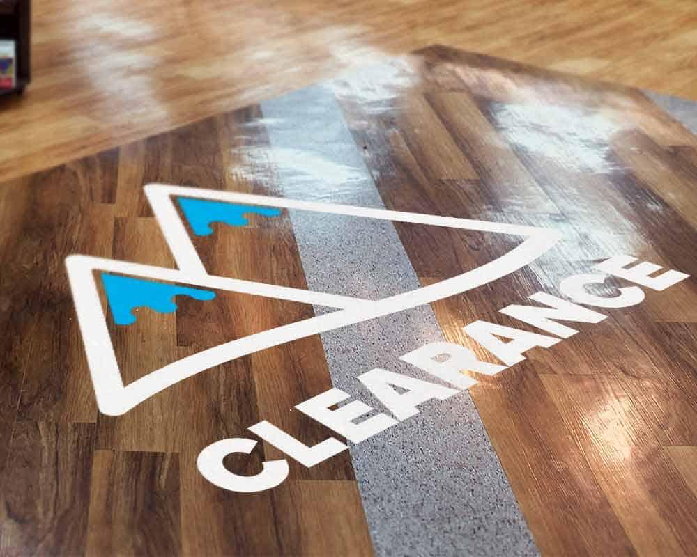 Vinyl Floor Decals  Removable Floor Decals  Floor Vinyl