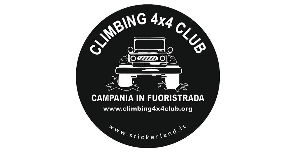Copriruota ufficiale del Climbing 4×4 Club – Campania in Fuoristrada