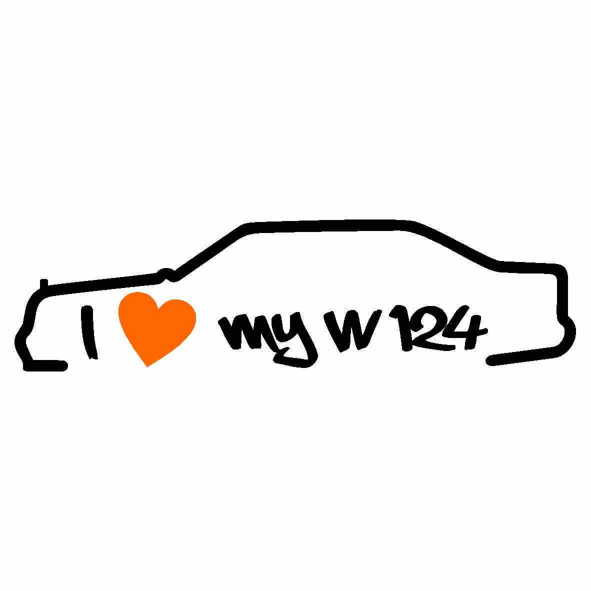 I Love My W124