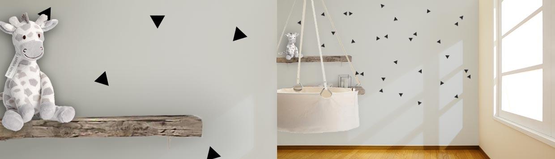 Muurstickers babykamer uniek met een muursticker  StickerOp
