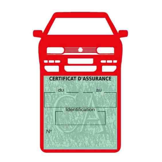 Golf 3 vignette assurance voiture Volkswagen rouge