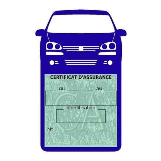 GOLF 6 Vignette assurance voiture Volkswagen bleu foncé