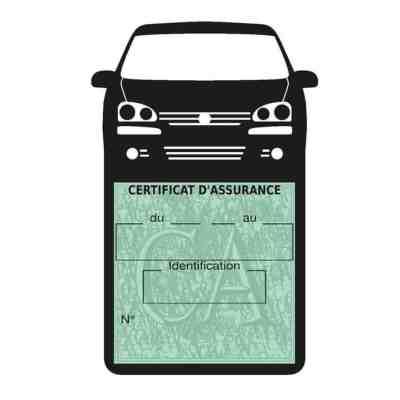 GOLF 6 Vignette assurance voiture Volkswagen