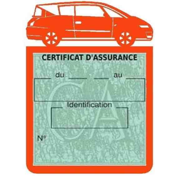 Vignette assurance voiture AVANTIME Renault orange