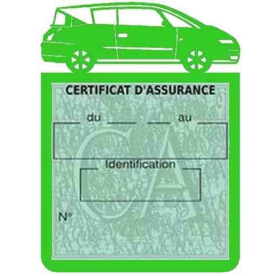 Vignette assurance voiture AVANTIME Renault vert clair