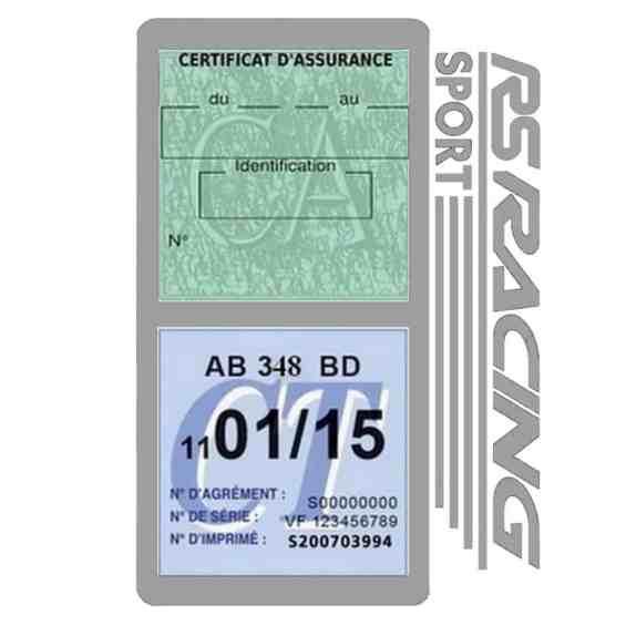 RS Racing Sport Vignette assurance voiture gris