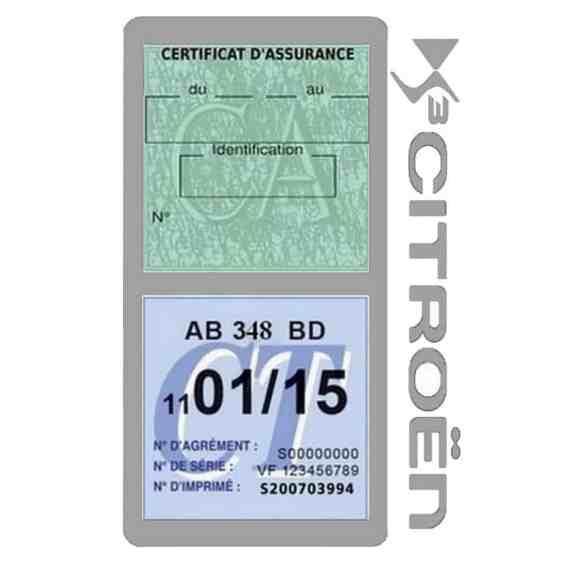 DS3 CITROEN vignette assurance voiture méga gris