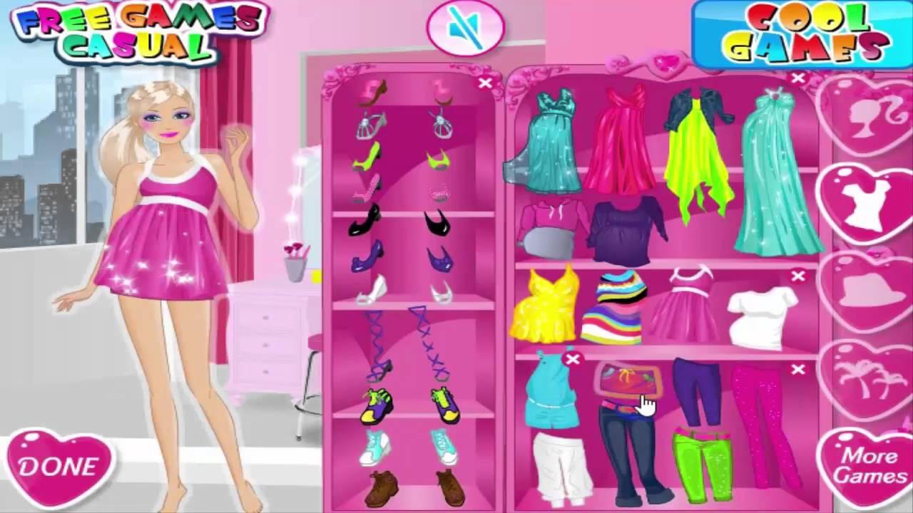 jeux d habillage de barbie