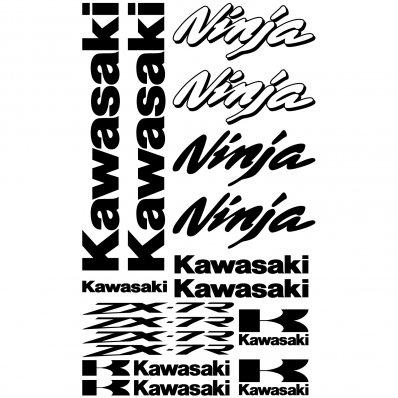 Wallstickers folies : Kawasaki ninja ZX-7r Decal Stickers kit