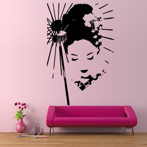 Stickers Geisha Pas Cher