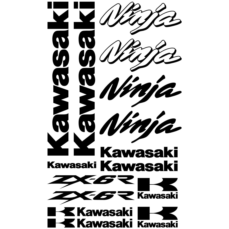 Stickers Kawasaki ninja ZX-6r Pas Cher