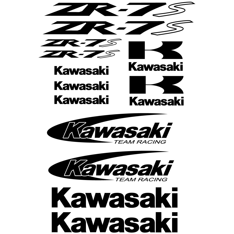 Stickers Kawasaki ZR-7s Pas Cher