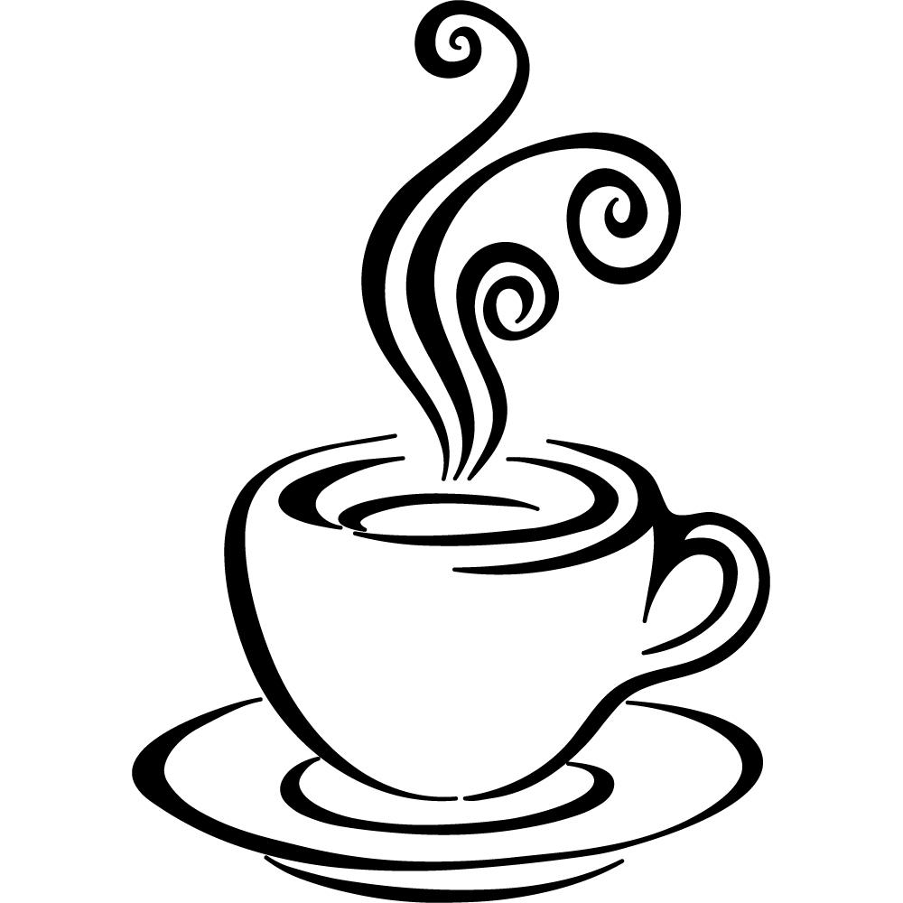 Stickers tasse à café Pas Cher