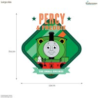 Personalised Percy Icon wall sticker | Stickerscape | UK