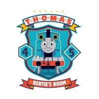 Personalised Thomas badge wall sticker | Thomas & Friends | UK