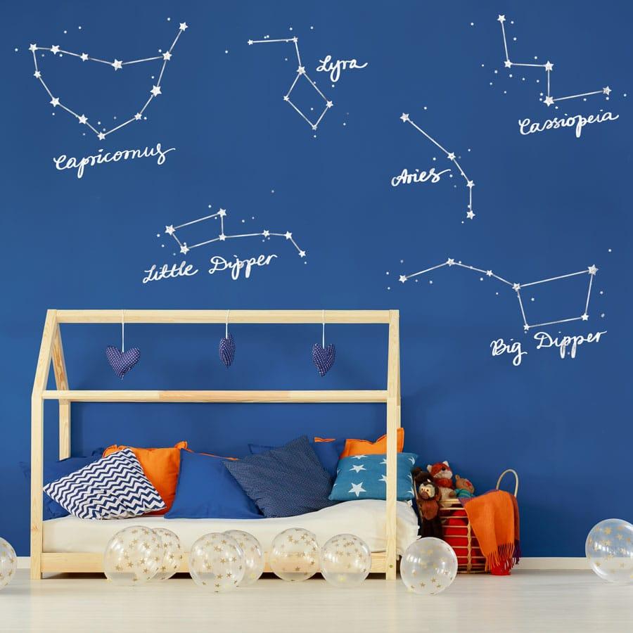 star constellations wall stickers