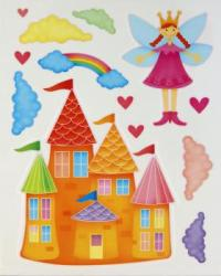 Wall Decoration Princess Castle
