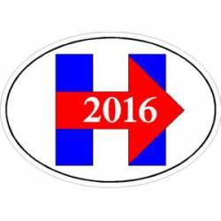 hillary 2016 stickers decals