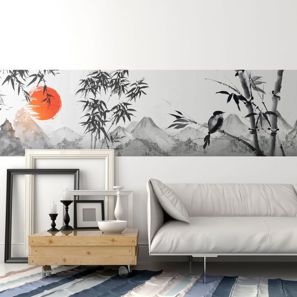 Greca adesiva per pareti farfalle di piastrelle stagliate. Bordi Adesivi Per Pareti Stickersmurali Com