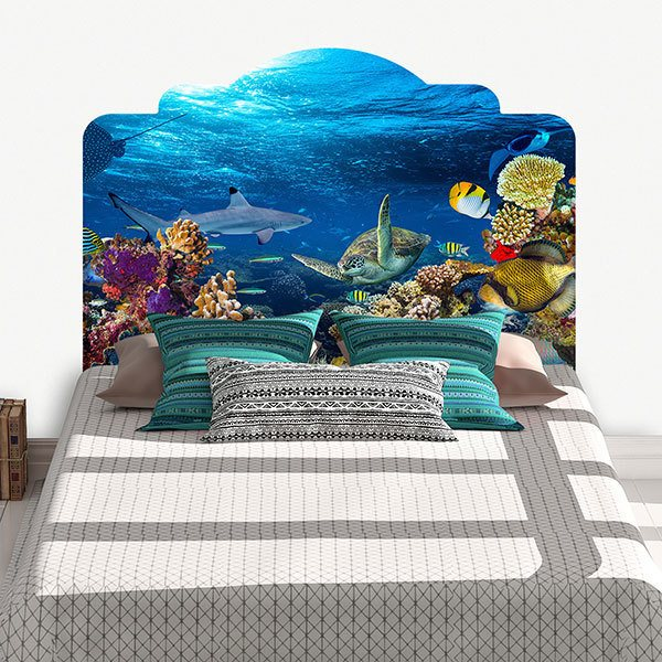 Scopri su eprice la sezione adesivi murali camera da letto e acquista online. Stickers Murali Testata Letto Fondo Marino Stickersmurali Com