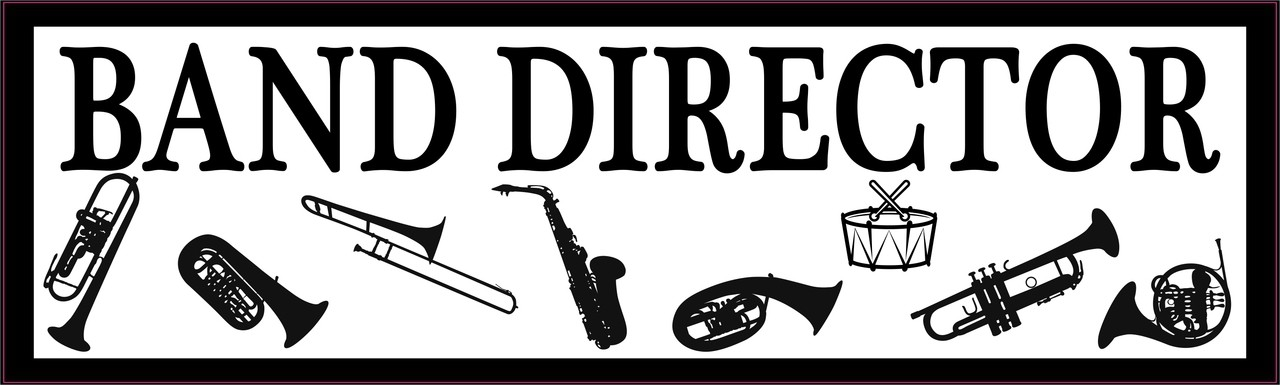 Band Director Bumper Sticker