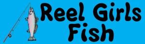 Reel Girls Fish Magnet