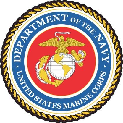Marine Corps Emblem Sticker