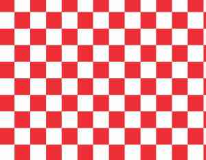 Red Checkered Vinyl Sheet