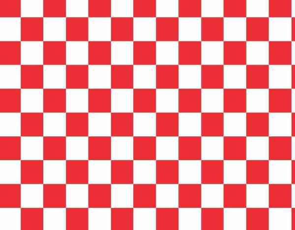 Red Checkered Vinyl Sheet