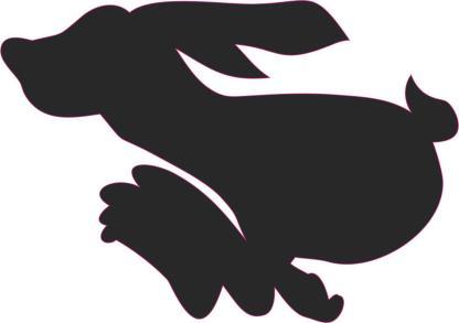 rabbit car decals